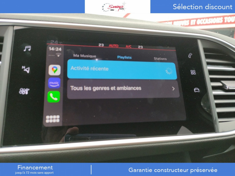 Photo 28 de l'offre de PEUGEOT 308 GT Pack BlueHDi 130 EAT8 TOIT PANOJA18 à 28000€ chez Garage Serieys Auto