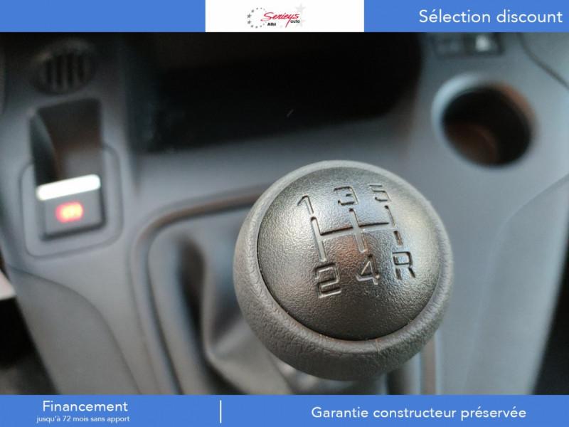Photo 2 de l'offre de PEUGEOT PARTNER FGN PRO BLUEHDI 100 STD CAMERA+3PL à 18480€ chez Garage Serieys Auto