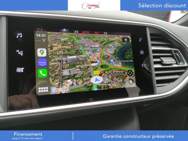Photo 24 de l'offre de PEUGEOT 308 GT Pack BlueHDi 130 EAT8 TOIT PANOJA18 à 28000€ chez Garage Serieys Auto