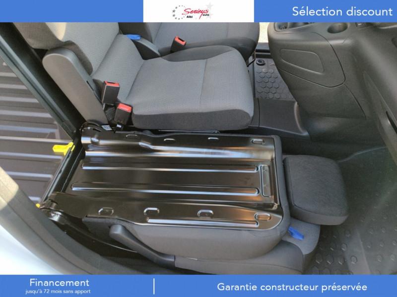 Photo 9 de l'offre de PEUGEOT PARTNER FGN PRO BLUEHDI 100 STD CAMERA+3PL à 18480€ chez Garage Serieys Auto