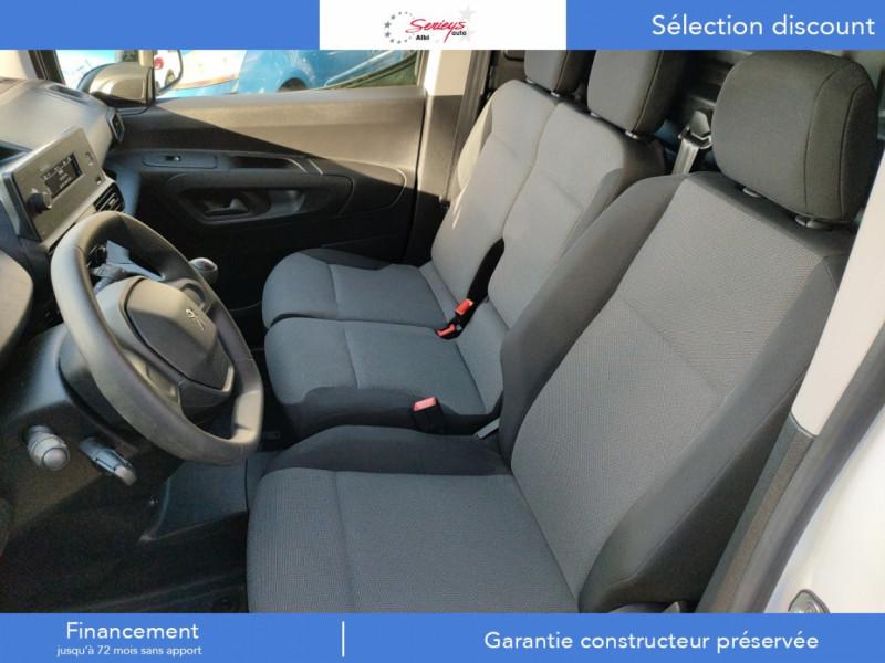 Photo 7 de l'offre de PEUGEOT PARTNER FGN PRO BLUEHDI 100 STD CAMERA+3PL à 18480€ chez Garage Serieys Auto