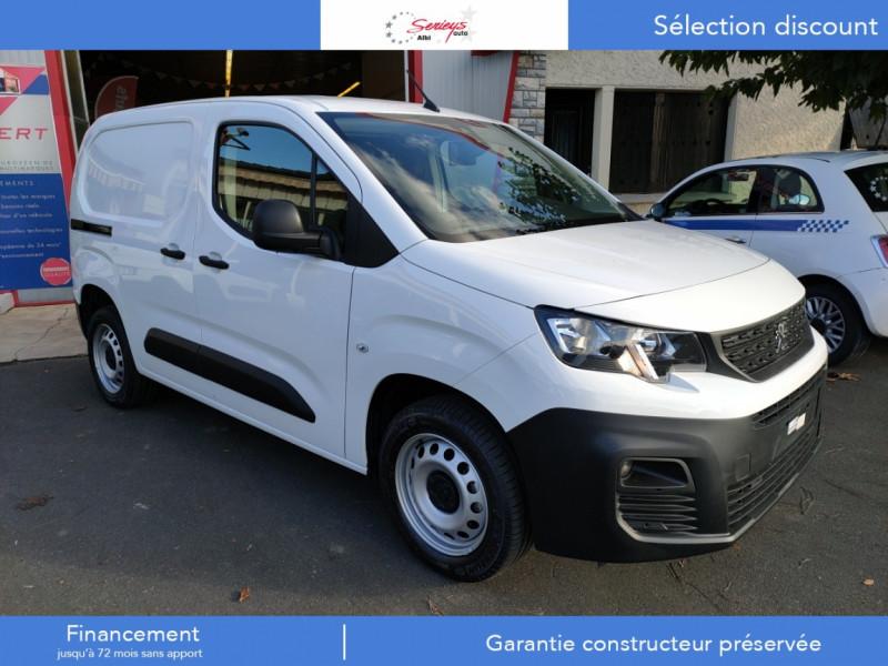 Peugeot PARTNER FGN PRO BLUEHDI 100 STD CAMERA+3PL Diesel BLANC Occasion à vendre