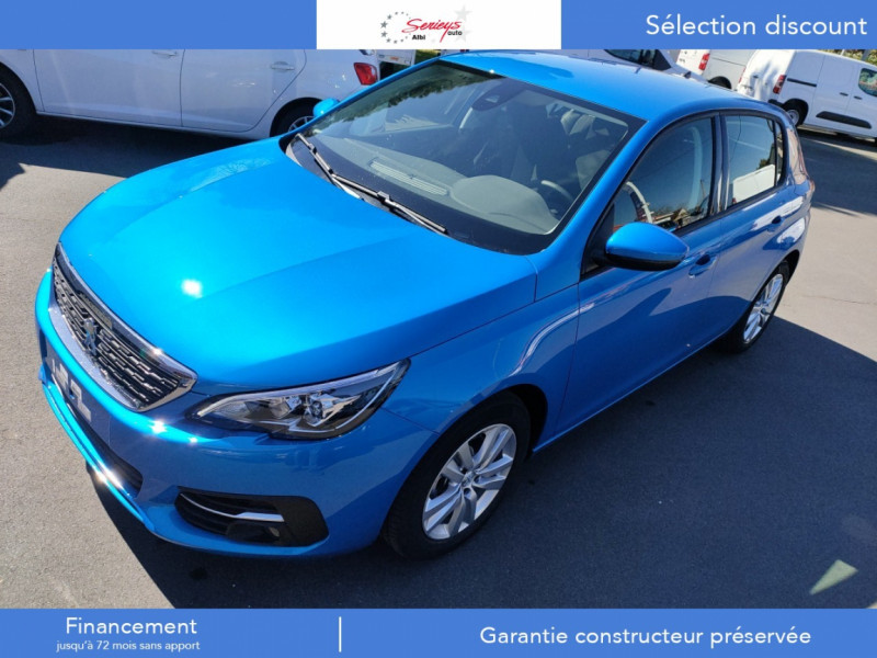 Photo 11 de l'offre de PEUGEOT 308 Active Pack BlueHDi 130 GPS+Camera AR à 20980€ chez Garage Serieys Auto