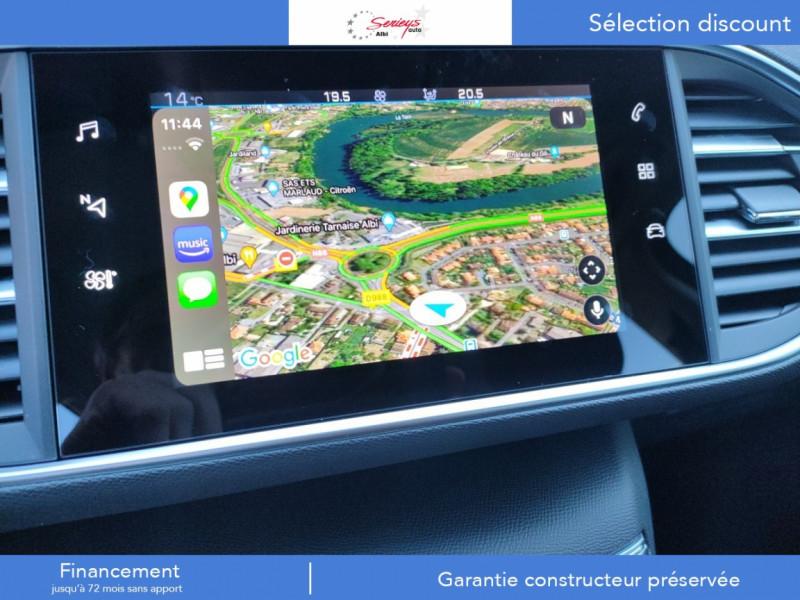 Photo 4 de l'offre de PEUGEOT 308 Active Pack BlueHDi 130 GPS+Camera AR à 20980€ chez Garage Serieys Auto