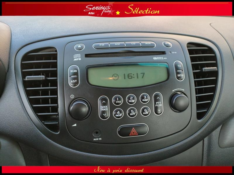 Photo 9 de l'offre de HYUNDAI i10 Pack 1.1 CRDi 75 - A SAISIR à 3980€ chez Garage Serieys Auto
