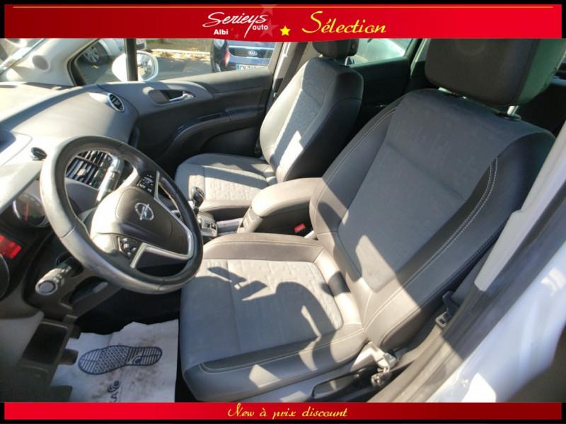 Photo 34 de l'offre de OPEL MERIVA Cosmo 1.3 CDTI 95 JA16+REGUL+CLIM AUTO à 5380€ chez Garage Serieys Auto