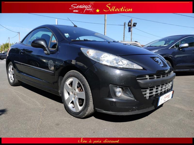 Photo 14 de l'offre de PEUGEOT 207 CC Série 64 1.6 HDi 112  à 6880€ chez Garage Serieys Auto