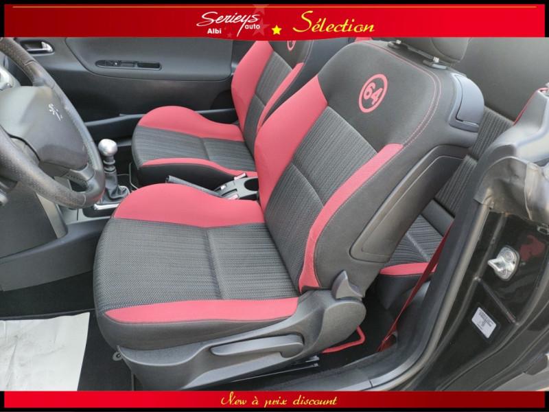 Photo 22 de l'offre de PEUGEOT 207 CC Série 64 1.6 HDi 112  à 6880€ chez Garage Serieys Auto