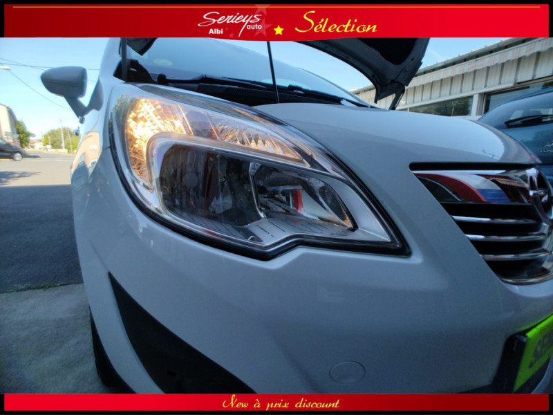 Photo 21 de l'offre de OPEL MERIVA Cosmo 1.3 CDTI 95 JA16+REGUL+CLIM AUTO à 5380€ chez Garage Serieys Auto