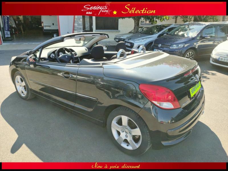 Photo 18 de l'offre de PEUGEOT 207 CC Série 64 1.6 HDi 112  à 6880€ chez Garage Serieys Auto