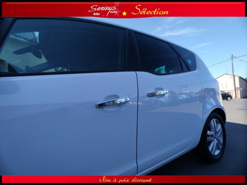 Photo 25 de l'offre de OPEL MERIVA Cosmo 1.3 CDTI 95 JA16+REGUL+CLIM AUTO à 5380€ chez Garage Serieys Auto