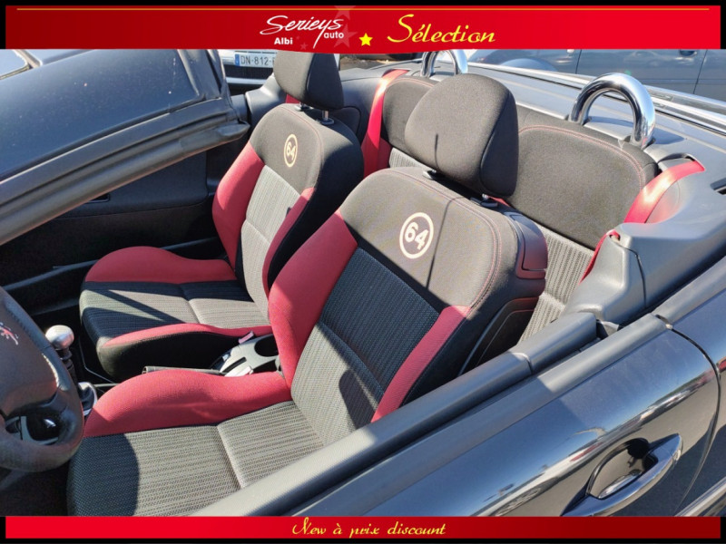 Photo 9 de l'offre de PEUGEOT 207 CC Série 64 1.6 HDi 112  à 6880€ chez Garage Serieys Auto