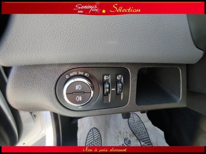 Photo 10 de l'offre de OPEL MERIVA Cosmo 1.3 CDTI 95 JA16+REGUL+CLIM AUTO à 5380€ chez Garage Serieys Auto