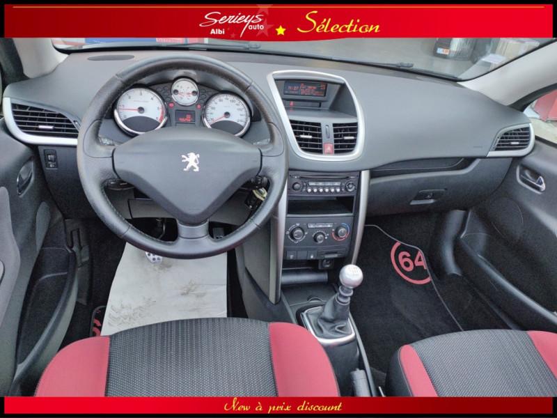 Photo 2 de l'offre de PEUGEOT 207 CC Série 64 1.6 HDi 112  à 6880€ chez Garage Serieys Auto