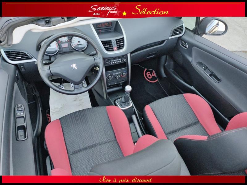 Photo 5 de l'offre de PEUGEOT 207 CC Série 64 1.6 HDi 112  à 6880€ chez Garage Serieys Auto