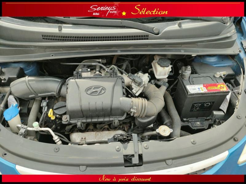 Photo 2 de l'offre de HYUNDAI i10 Pack Clim 1.2 65 CV à 4400€ chez Garage Serieys Auto