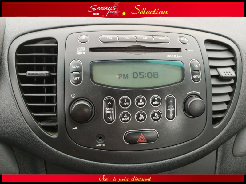 Photo 3 de l'offre de HYUNDAI i10 Pack Clim 1.2 65 CV à 4400€ chez Garage Serieys Auto
