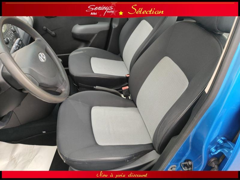 Photo 20 de l'offre de HYUNDAI i10 Pack Clim 1.2 65 CV à 4400€ chez Garage Serieys Auto