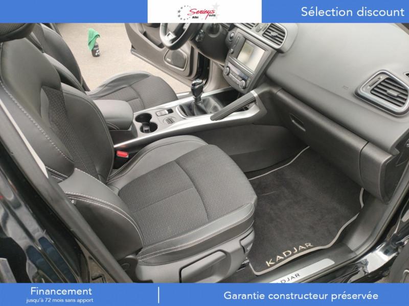 Photo 21 de l'offre de RENAULT KADJAR Intens dCi 130 BVM6 Camera AR+Bose à 12800€ chez Garage Serieys Auto