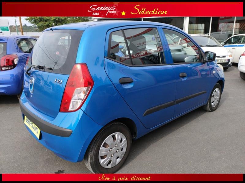 Photo 4 de l'offre de HYUNDAI i10 Pack Clim 1.2 65 CV à 4400€ chez Garage Serieys Auto