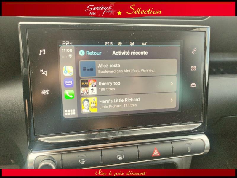 Photo 25 de l'offre de CITROEN C3 AIRCROSS Shine 1.2 PureTech 110 EAT6 à 15980€ chez Garage Serieys Auto