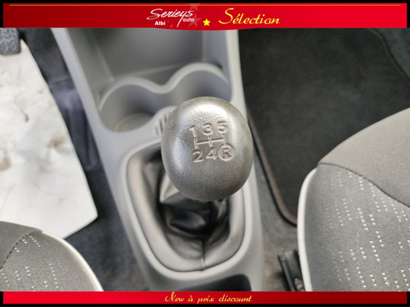 Photo 3 de l'offre de PEUGEOT 107 Trendy 1.0 12V 68 5 PTES RAS CLIM à 4480€ chez Garage Serieys Auto