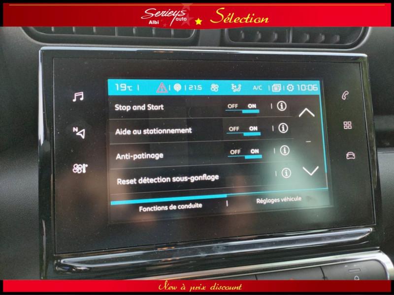 Photo 10 de l'offre de CITROEN C3 AIRCROSS Shine 1.2 PureTech 110 EAT6 à 15980€ chez Garage Serieys Auto