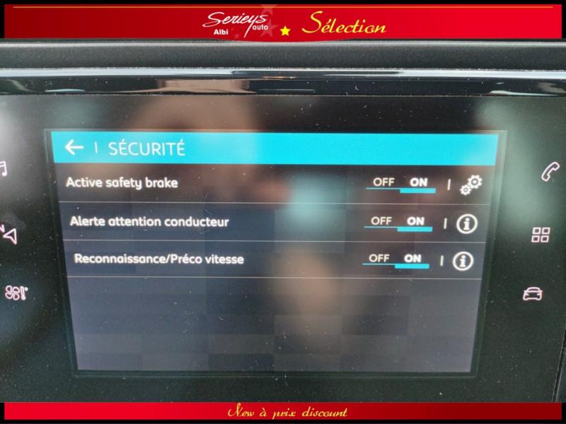 Photo 8 de l'offre de CITROEN C3 AIRCROSS Shine 1.2 PureTech 110 EAT6 à 15980€ chez Garage Serieys Auto