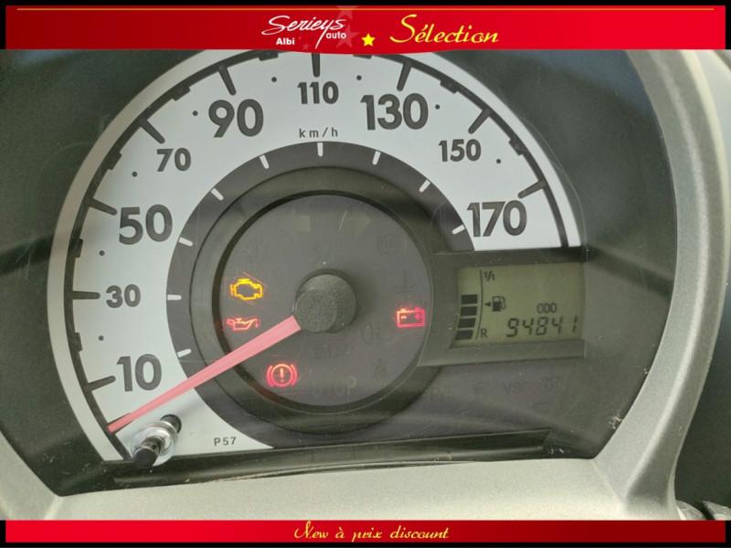 Photo 2 de l'offre de PEUGEOT 107 Trendy 1.0 12V 68 5 PTES RAS CLIM à 4480€ chez Garage Serieys Auto