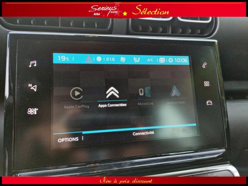 Photo 11 de l'offre de CITROEN C3 AIRCROSS Shine 1.2 PureTech 110 EAT6 à 15980€ chez Garage Serieys Auto
