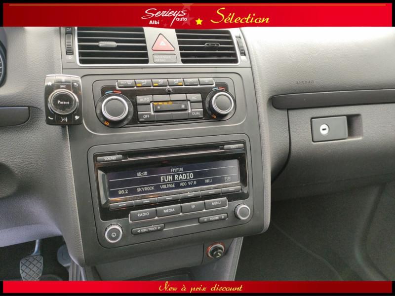 Photo 8 de l'offre de VOLKSWAGEN TOURAN Confort line 1.6 TDI 105 JA à 9880€ chez Garage Serieys Auto