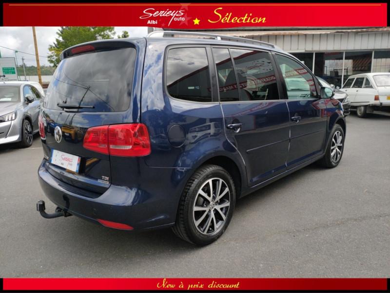 Photo 13 de l'offre de VOLKSWAGEN TOURAN Confort line 1.6 TDI 105 JA à 9880€ chez Garage Serieys Auto