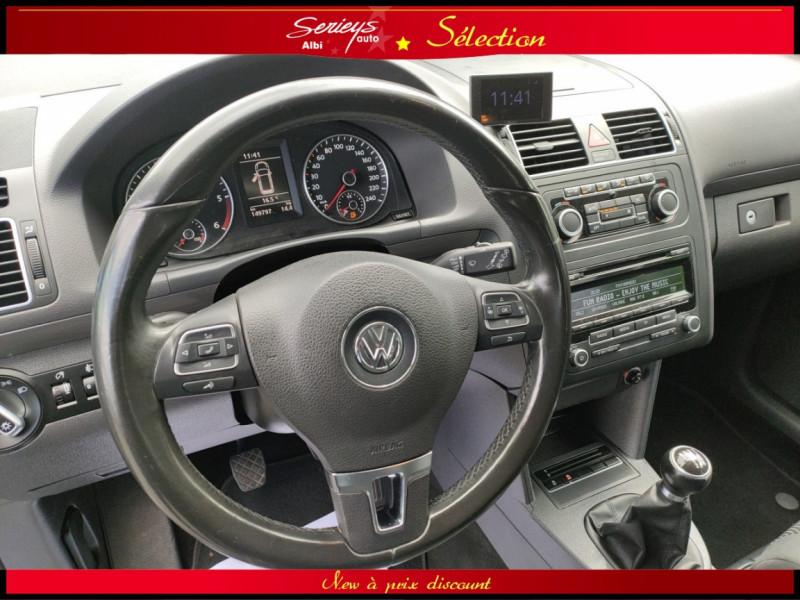Photo 21 de l'offre de VOLKSWAGEN TOURAN Confort line 1.6 TDI 105 JA à 9880€ chez Garage Serieys Auto