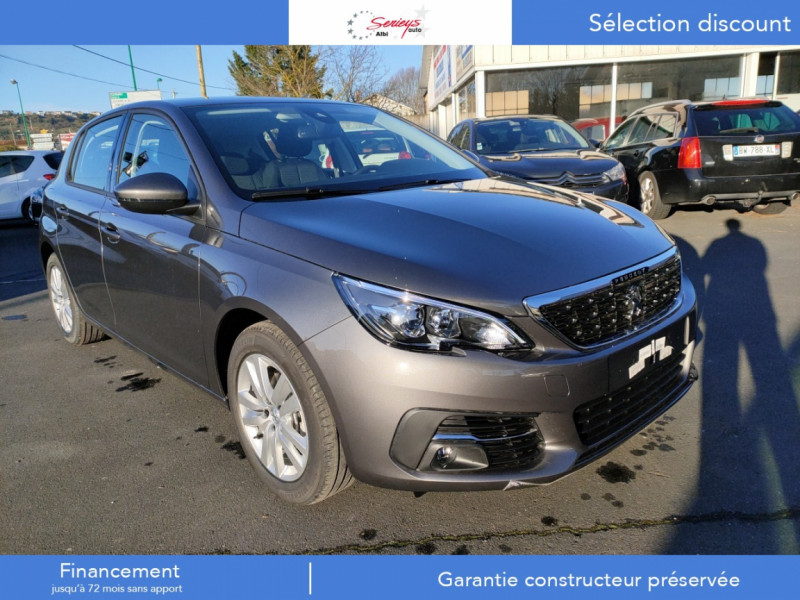 Photo 25 de l'offre de PEUGEOT 308 Active Pack BlueHDi 130 CAMERA+GPS+JA à 20980€ chez Garage Serieys Auto