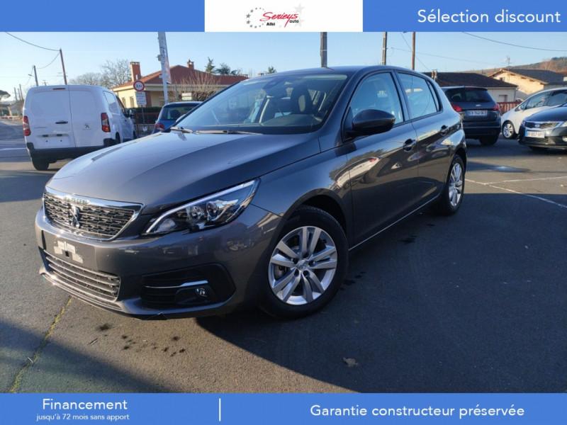 Peugeot 308 Active Pack BlueHDi 130 CAMERA+GPS+JA Diesel GRIS PLATINIUM METAL Neuf à vendre