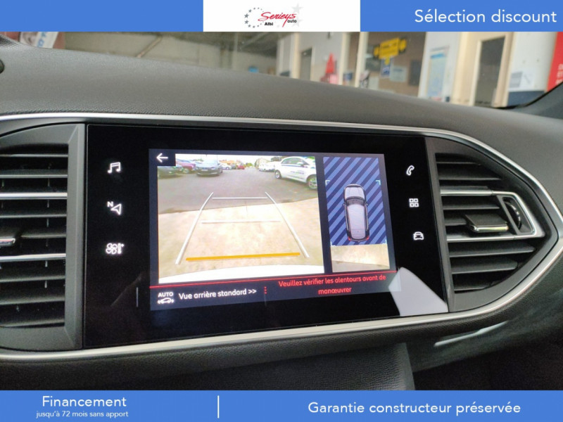 Photo 16 de l'offre de PEUGEOT 308 GT Pack BlueHDi 130 EAT8 TOIT PANOJA18 à 28000€ chez Garage Serieys Auto