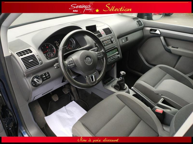 Photo 14 de l'offre de VOLKSWAGEN TOURAN Confort line 1.6 TDI 105 JA à 9880€ chez Garage Serieys Auto