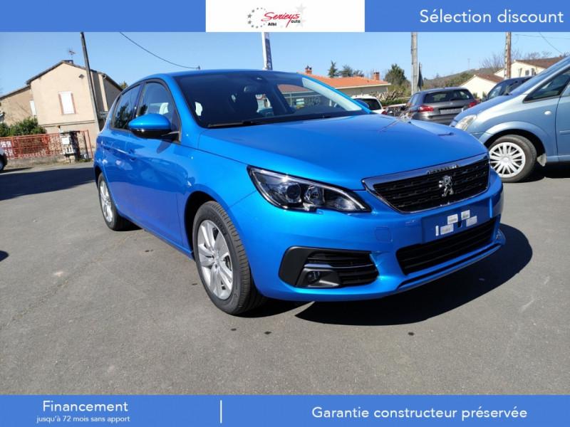 Peugeot 308 Active Pack BlueHDi 130 GPS+Camera AR Diesel BLEU VERTIGO NACREE Neuf à vendre