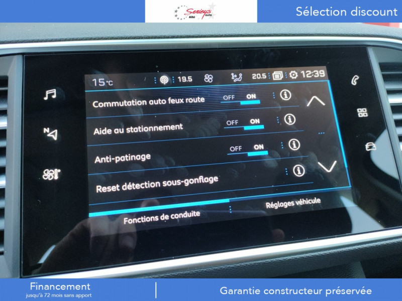 Photo 24 de l'offre de PEUGEOT 308 Active Pack BlueHDi 130 GPS+Camera AR à 20980€ chez Garage Serieys Auto