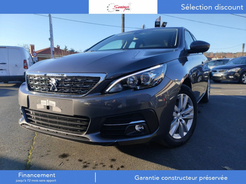 Photo 8 de l'offre de PEUGEOT 308 Active Pack BlueHDi 130 CAMERA+GPS+JA à 20980€ chez Garage Serieys Auto