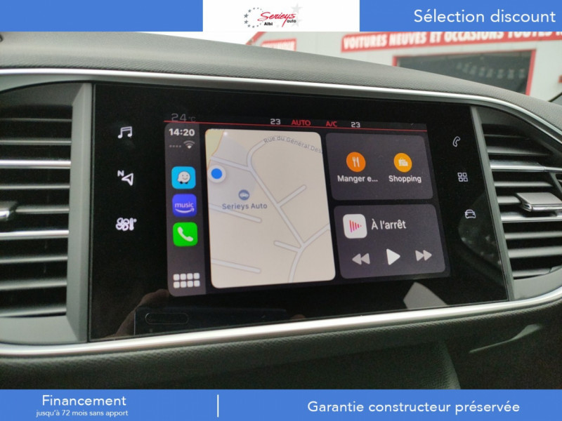 Photo 22 de l'offre de PEUGEOT 308 GT Pack BlueHDi 130 EAT8 TOIT PANOJA18 à 28000€ chez Garage Serieys Auto