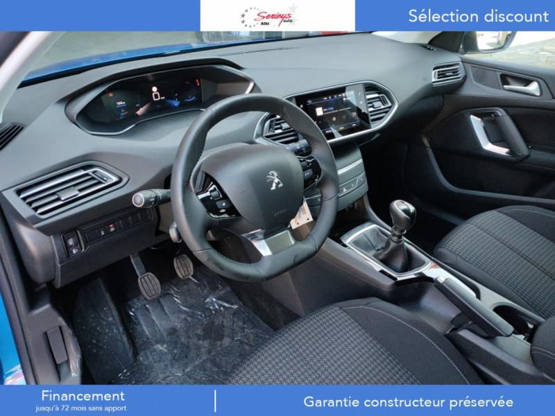 Photo 6 de l'offre de PEUGEOT 308 Active Pack BlueHDi 130 GPS+Camera AR à 20980€ chez Garage Serieys Auto