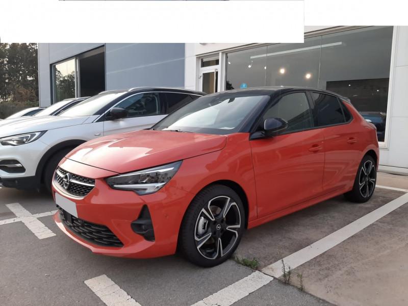 Opel CORSA GS Line 1.2 Turbo 130 EAT8 CUIR+TOIT PANO Essence sans plomb ORANGE Neuf à vendre