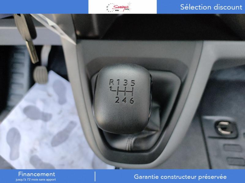 Photo 3 de l'offre de PEUGEOT EXPERT PRO 1.5 BLUEHDI 120 STD 3 PL à 25980€ chez Garage Serieys Auto