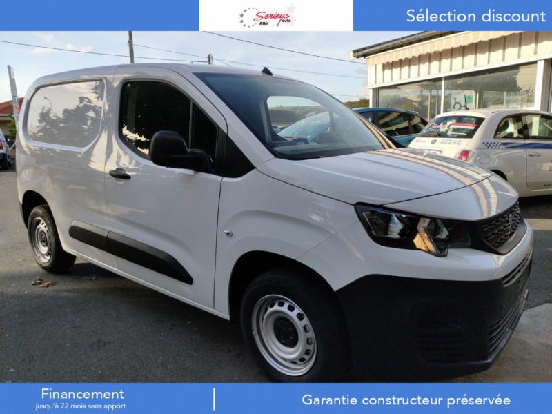 Peugeot PARTNER PRO BLUEHDI 100 STD 650 KG 3 PL Diesel BLANC Neuf à vendre