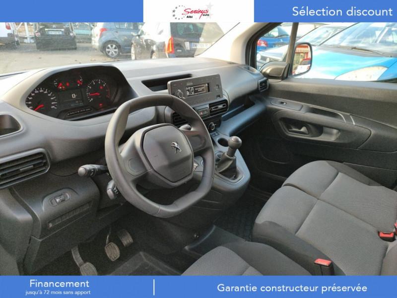 Photo 8 de l'offre de PEUGEOT PARTNER PRO BLUEHDI 100 STD 650 KG 3 PL à 20180€ chez Garage Serieys Auto