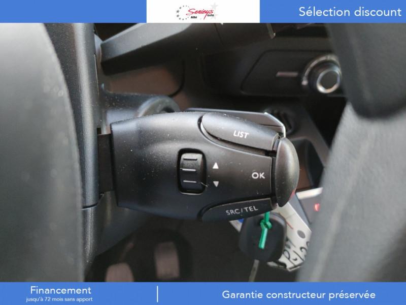Photo 11 de l'offre de PEUGEOT PARTNER PRO BLUEHDI 100 2PL 600 KG STD à 19480€ chez Garage Serieys Auto