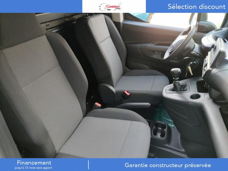 Photo 3 de l'offre de PEUGEOT PARTNER PRO BLUEHDI 100 2PL 600 KG STD à 19480€ chez Garage Serieys Auto