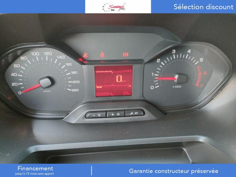 Photo 6 de l'offre de PEUGEOT PARTNER PRO BLUEHDI 100 2PL 600 KG STD à 19480€ chez Garage Serieys Auto
