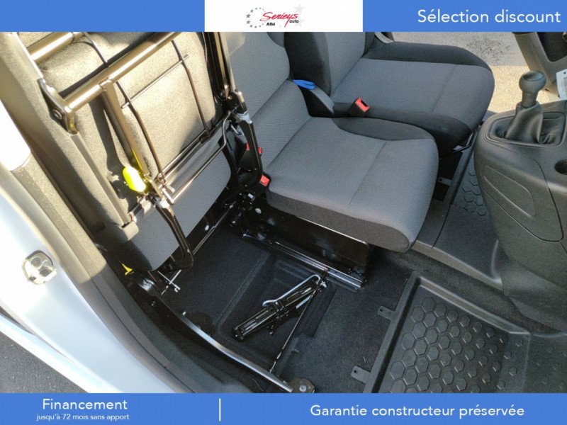 Photo 13 de l'offre de PEUGEOT PARTNER PRO BLUEHDI 100 STD 650 KG 3 PL à 20180€ chez Garage Serieys Auto